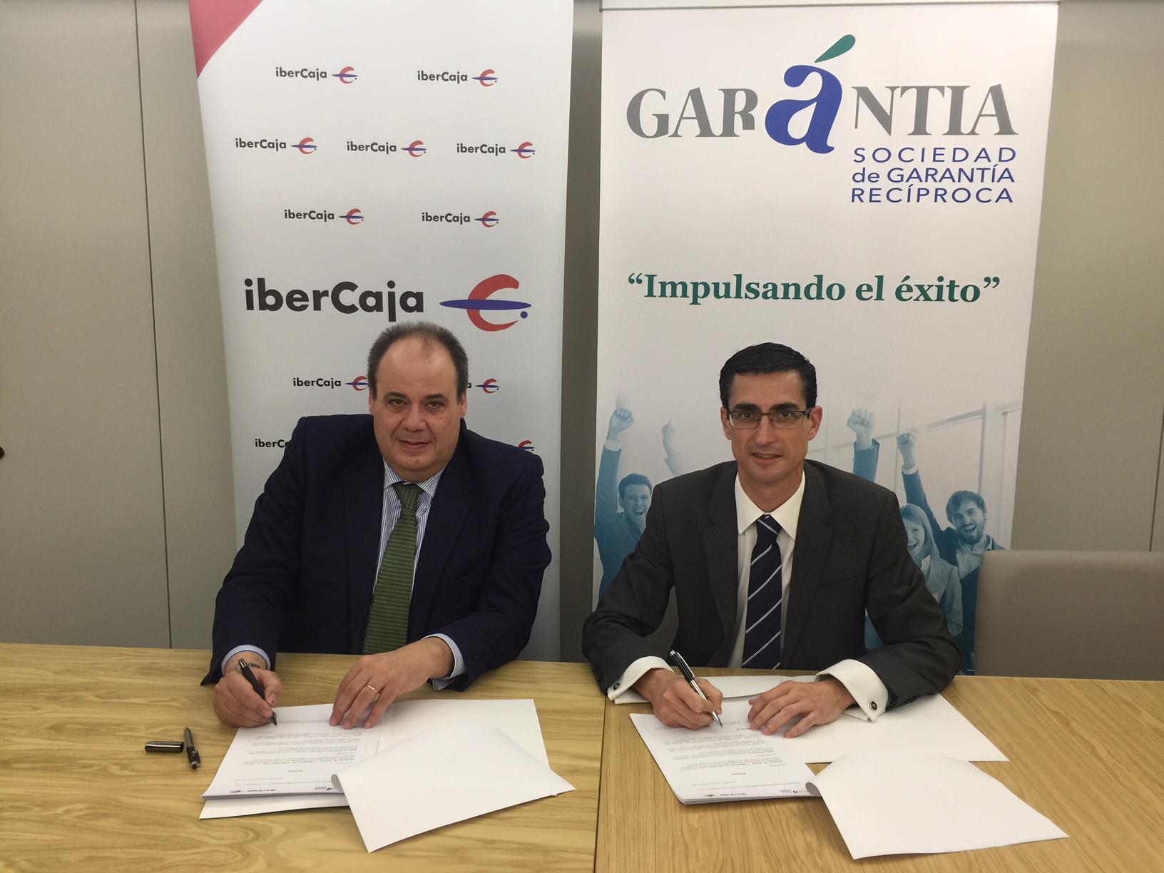 Acuerdo entre gar ntia e ibercaja aval para pymes y for Ibercaja banco oficinas